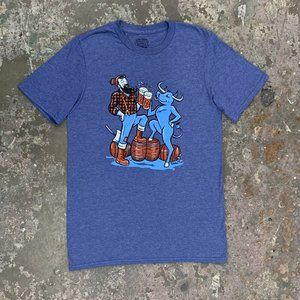 Paul and Babe Cheers T-Shirt NWOT